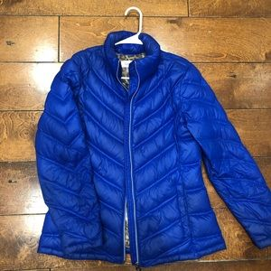 Calvin Klein Lightweight blue medium puffer jacket